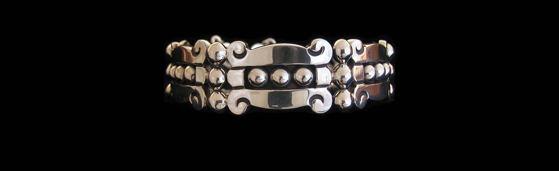 Slider – Pre-Columbian Design Bracelet by Maestro Jose Luis Flores