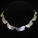 A.Munos Vintage Mexican Sterling Silver Necklace - Duck Motif