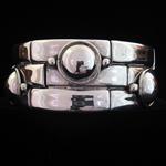 William Spratling Reproduction Sterling Silver Tubes & Disks Bracelet